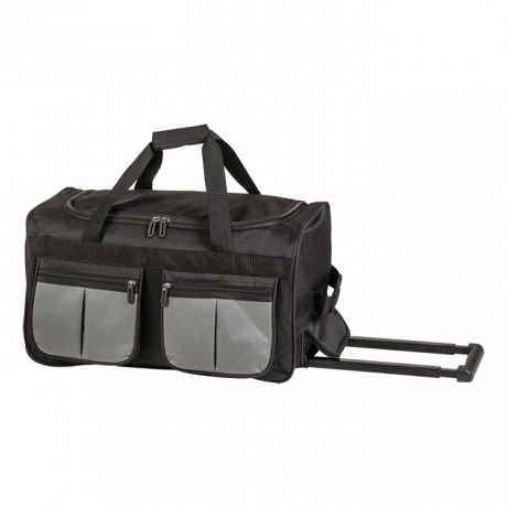 BB0197 - Rolling Duffel With Coloured Front Pockets