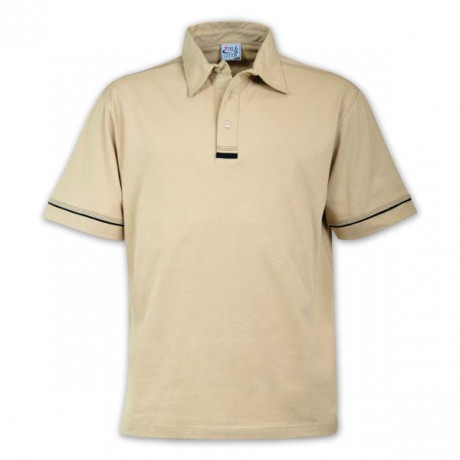 Flat Piping Polo - While stocks last
