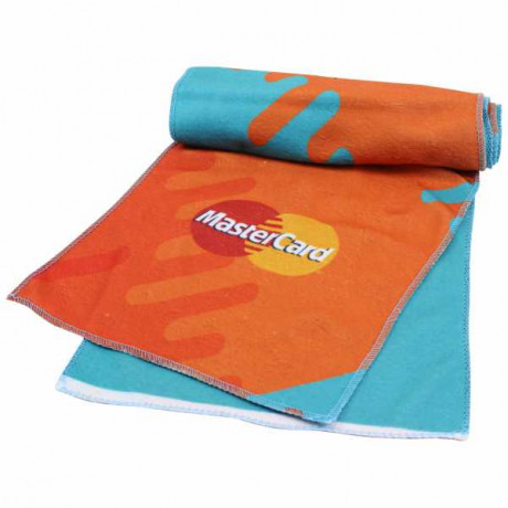 Fleece scarf with ful col