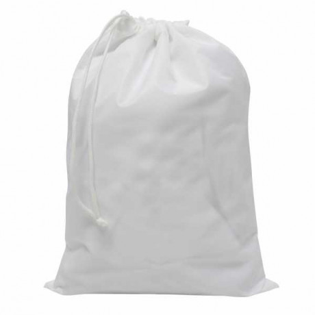 Unbranded White A4 Drawcord Bag
