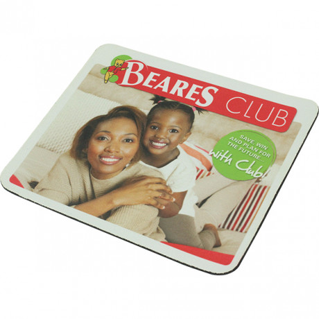 Square Polyester Mousepad with fc